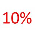 Voordeelaanbieding 10 procent