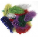 Feathers - chenille - pompons